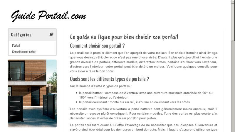 Guide Portail