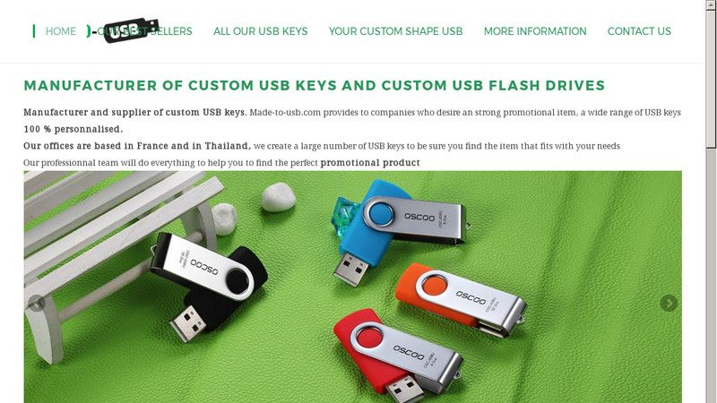 Made to USB
