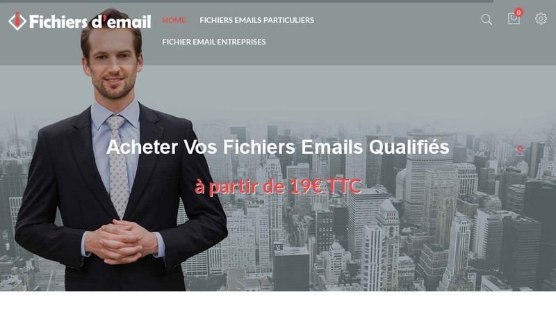 Fichiers d'email