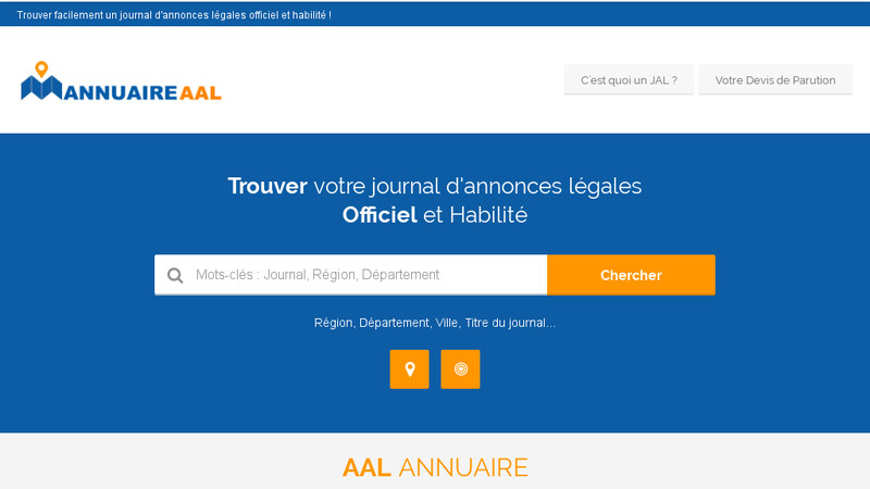 Annuaire AAL