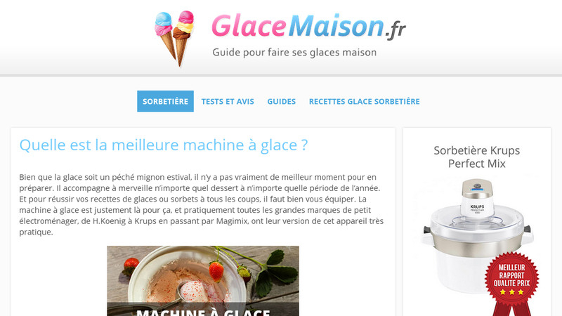 GlaceMaison.fr
