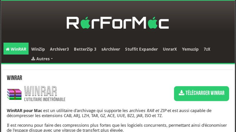 Rar for Mac