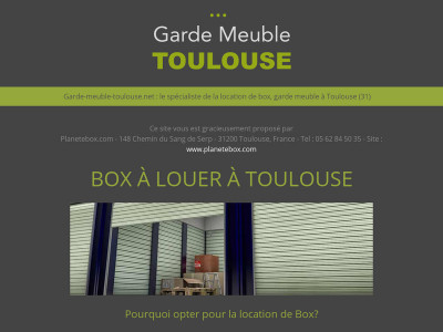 garde meuble toulouse location de box et de garde meuble. Black Bedroom Furniture Sets. Home Design Ideas