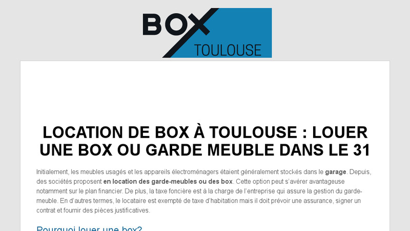 Box Toulouse