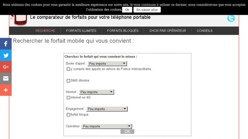 Forfait mobile