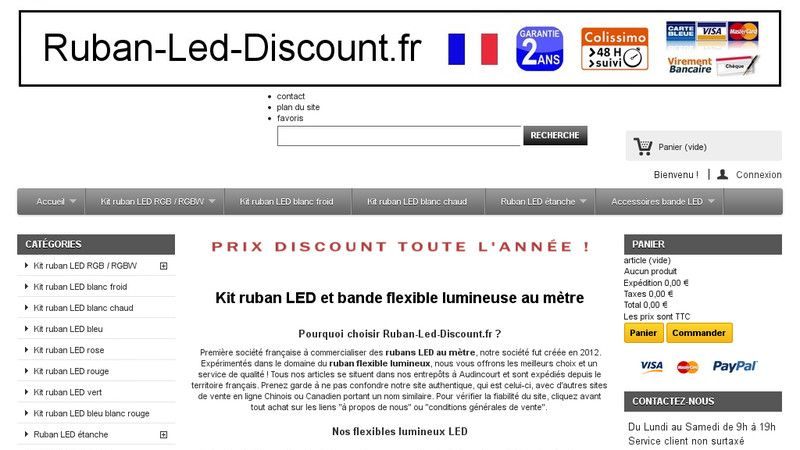 Ruban LED Discount