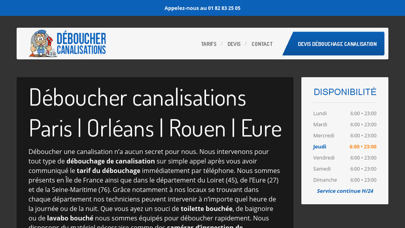 Deboucher-canalisations.com