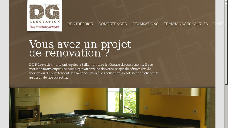 DG Rénovation