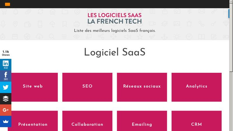 Logiciel Saas French Tech