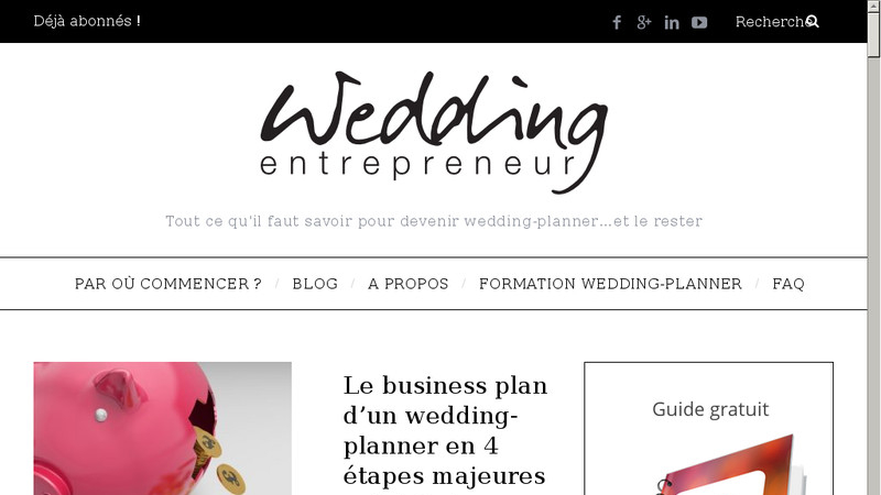 Wedding Entrepreneur