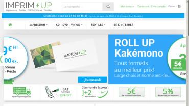 Page Daccueil Du Site Imprim Up