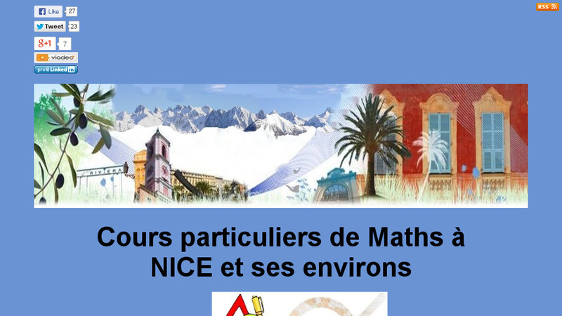 Cours Particuliers Maths 06