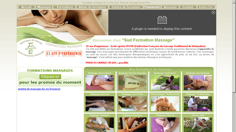 Sud Formation Massage