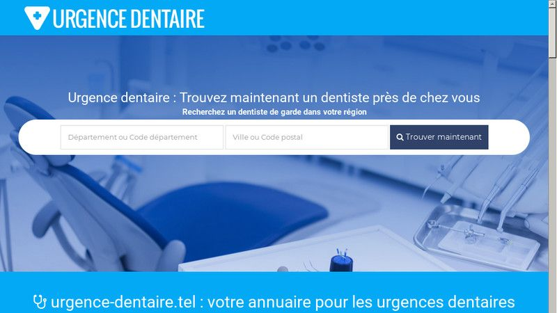 Urgence dentaire