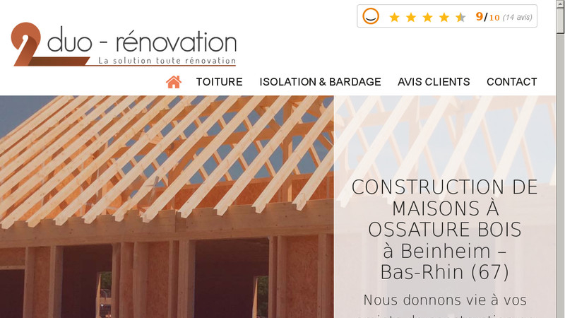 Duo rénovation