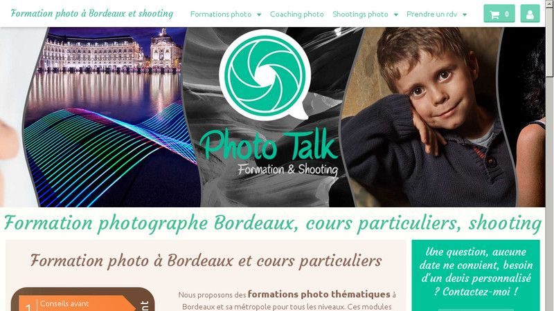 Photo Talk Bordeaux