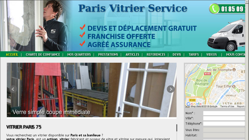 Paris Vitrier Service