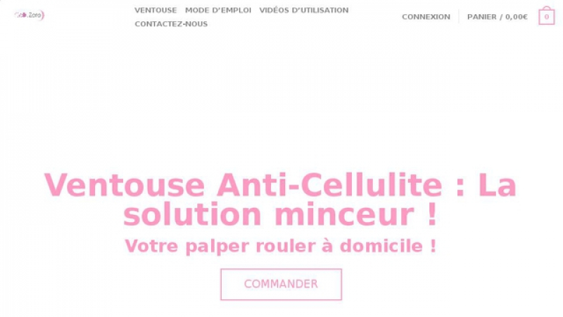 Ventouse anti-cellulite
