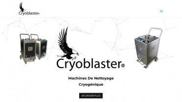 Page d'accueil du site : Cryoblaster