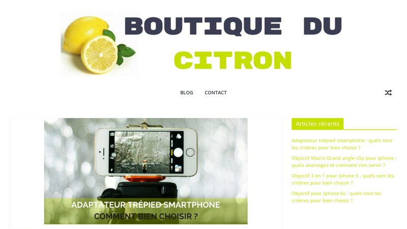 Boutique du Citron