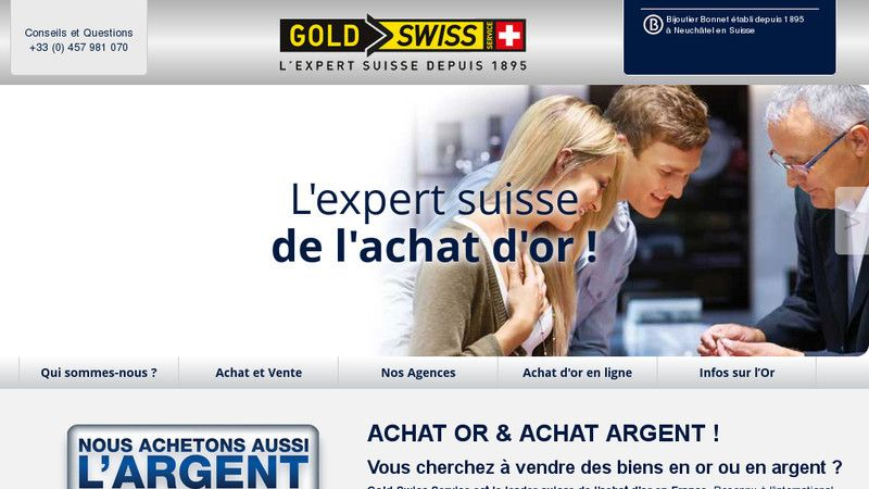 Gold Swiss Service