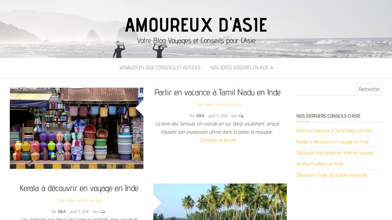 Amoureux Asie