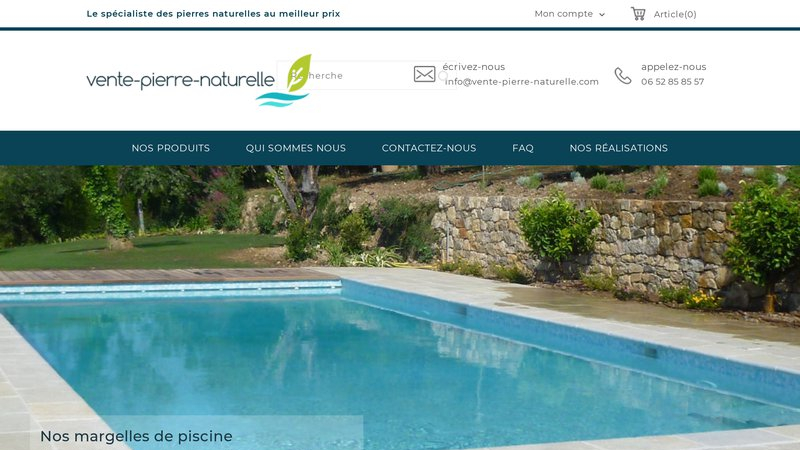 Vente Pierre Naturelle