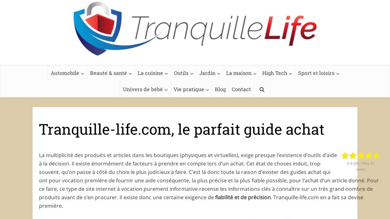 Tranquille-life
