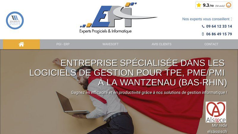 E.P.I. - Experts Progiciels & Informatique