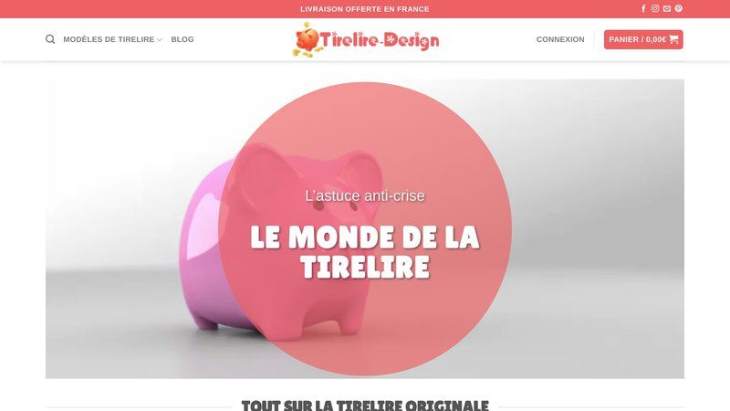 Tirelire-design