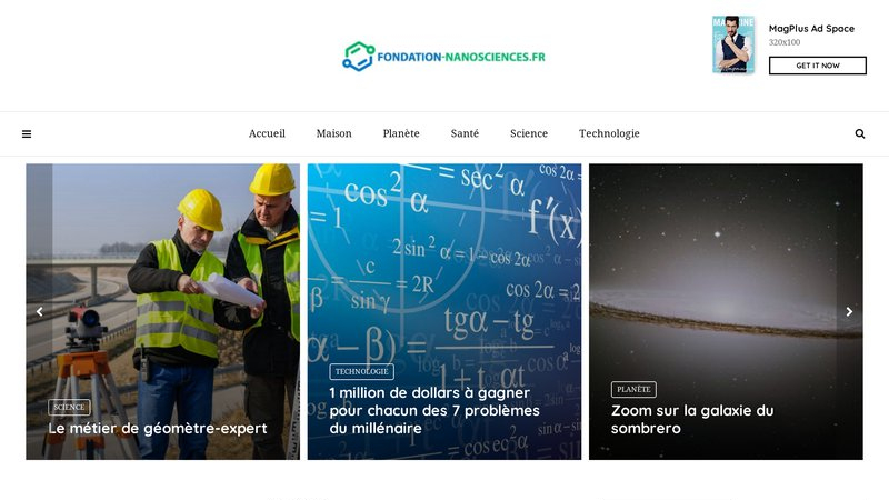 Fondation nano-sciences