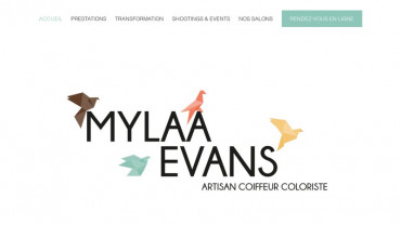 Page d'accueil du site : Mylaa Event