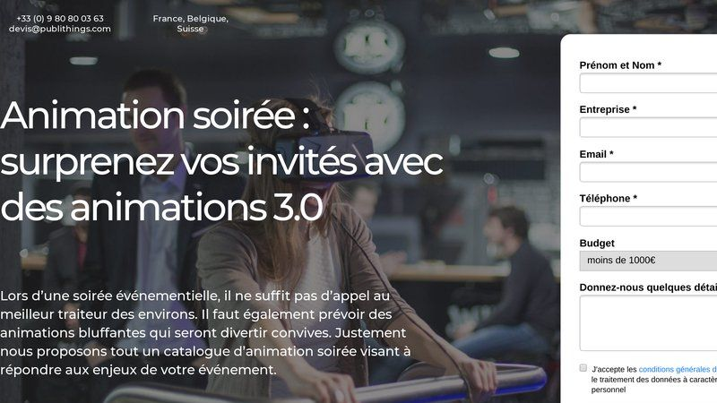 Animationsoiree.net