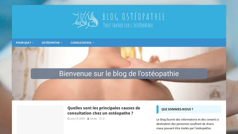 Blog-osteopathie