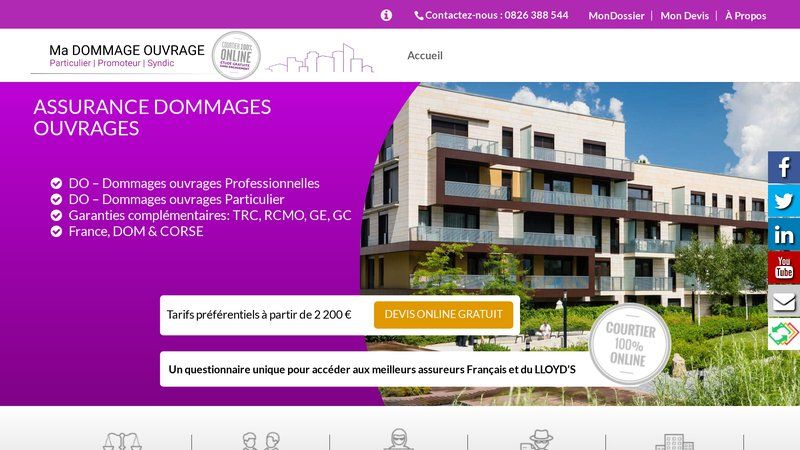 Assurance Dommagse-Ouvrage