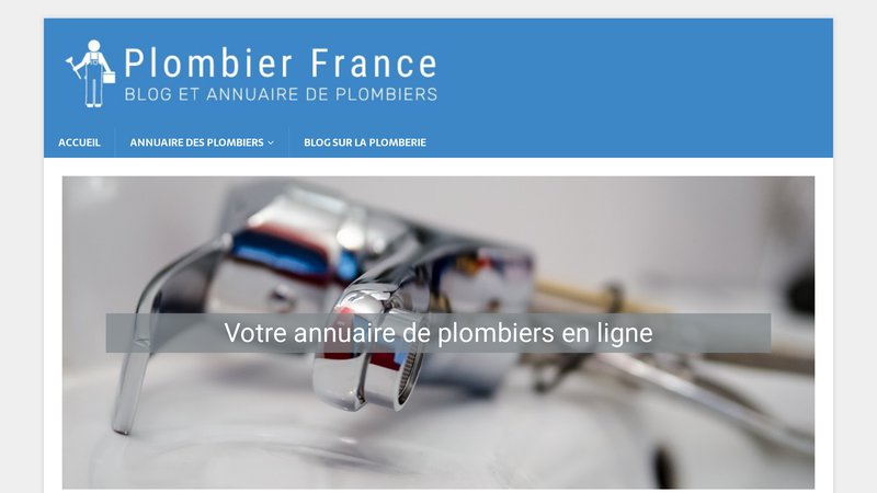 Plombier France