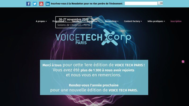 Voice tech Paris