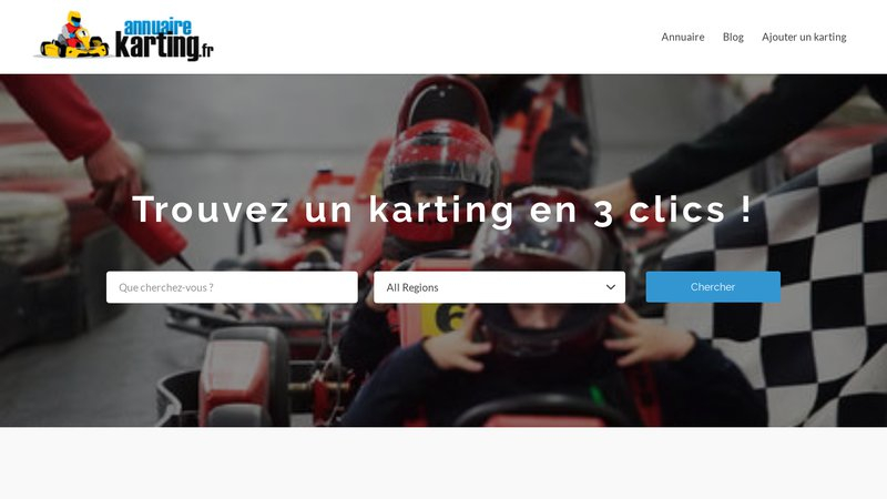 Annuaire Karting