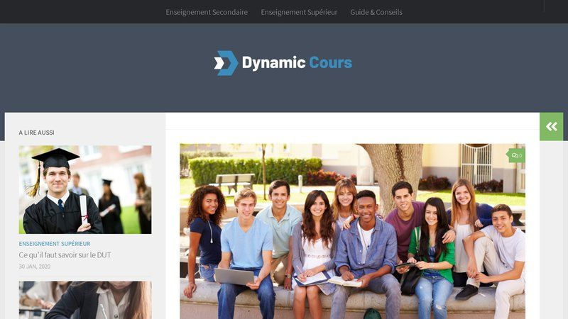 Dynamic Cours