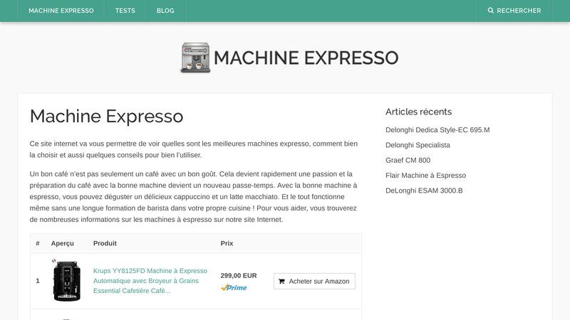 Machine-Expresso