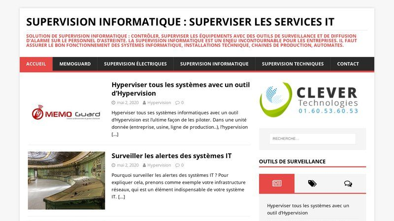 Supervision informatique