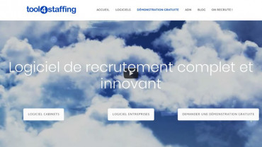 Page d'accueil du site : Tool4staffing