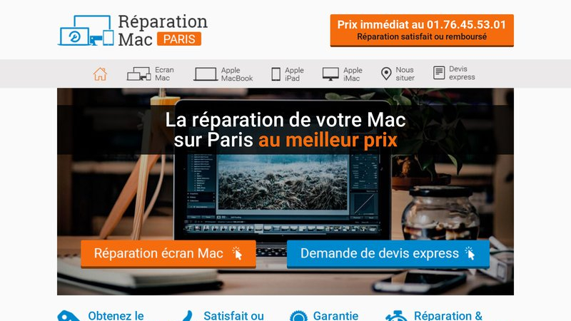 Réparation Mac Paris
