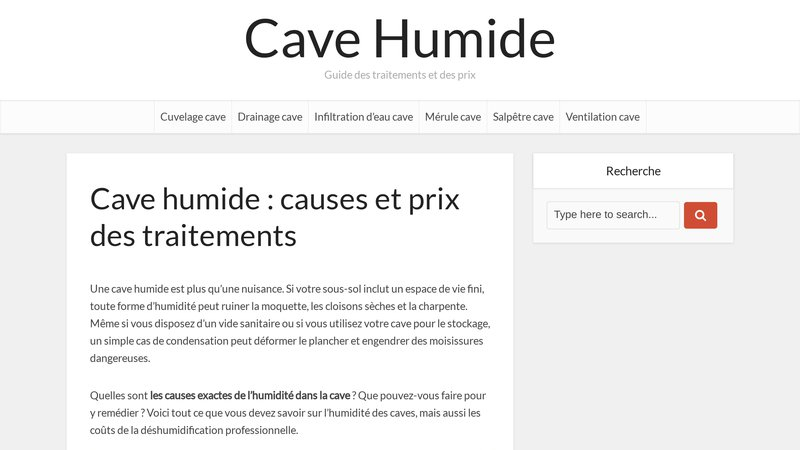 Cave Humide