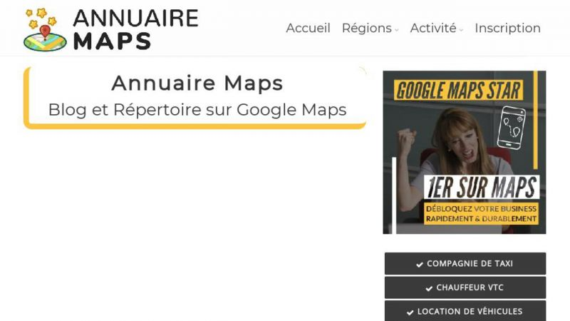 Annuaire Maps