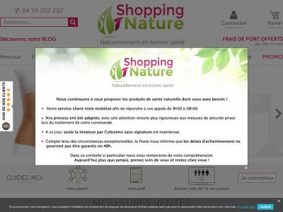 shopping nature votre compl ment alimentaire minceur pour r ussir perdre du poids. Black Bedroom Furniture Sets. Home Design Ideas