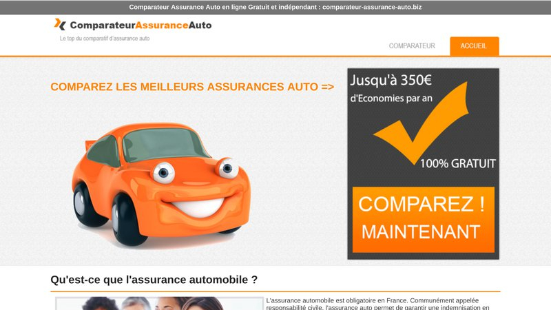 My comparateur assurance auto