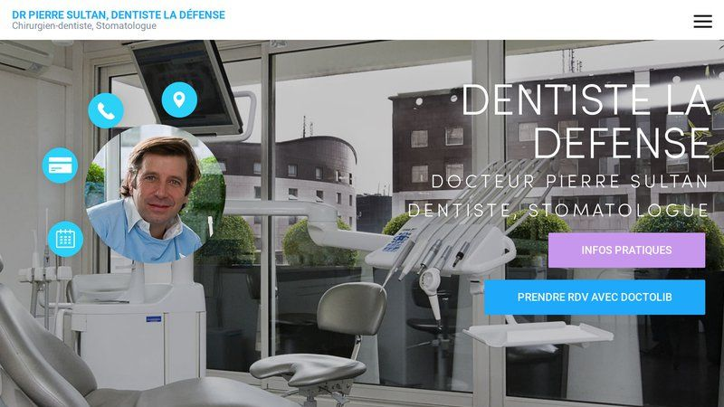 Dentiste Pierre Sultan