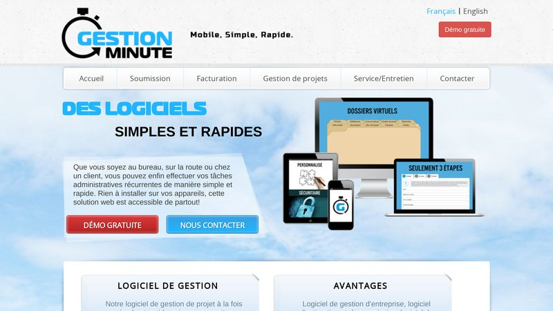 Gestion Minute