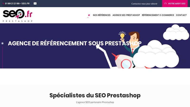 Referencement Prestashop